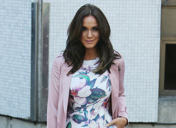 Vicky Pattison outside ITV Studios 20 April