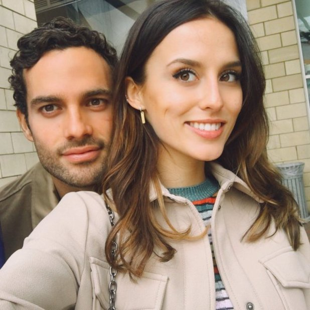 Lucy Watson and James Dunmore, 24 March 2016.