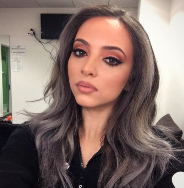 Little Mix star Jade Thirlwall wearing Avon's Perfectly Matte Lipstick in Au Naturale, £8, 22nd April 2016