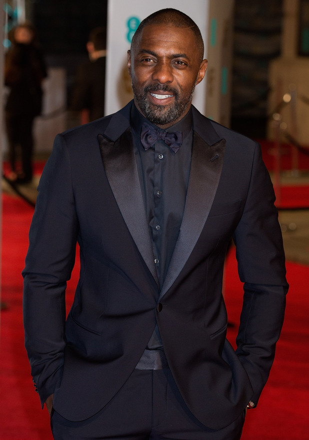 Idris Elba - EE British Academy Film Awards 2016 (BAFTAs) held at the Royal Opera House. 15 February 2016