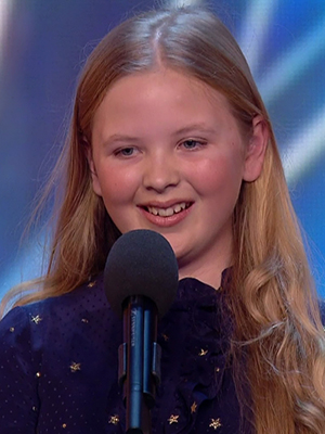 Beau Dermott performing during the auditions for 'Britain's Got Talent'. Broadcast on ITV1 HD.