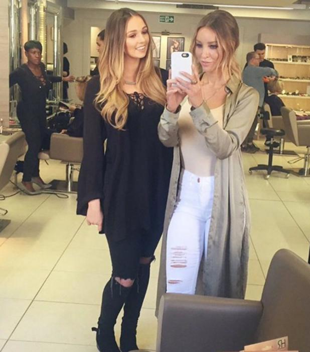 Hair Rehab London by Lauren Pope press day: Lauren and Lianne Godfrey