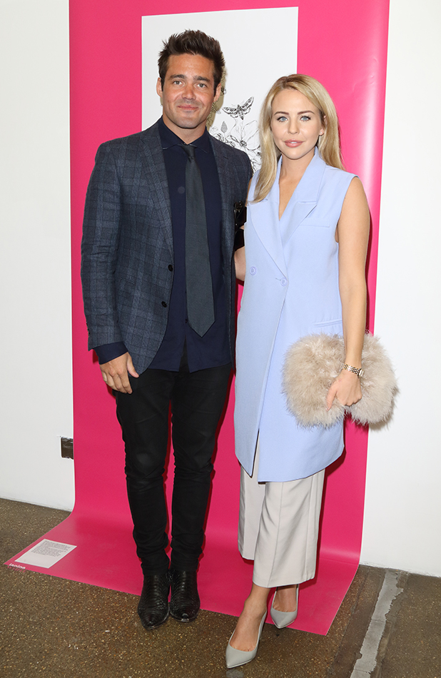 Prince's Trust Tomorrow's Talent Launch at Canvas Studios, Shoreditch, London Lydia Bright and Spencer Matthews