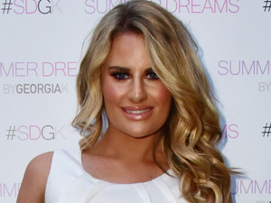 TOWIE's Danielle Armstrong attends the Summer Dreams by Georgia K launch party at Kanaloa in London, 28th April 2016