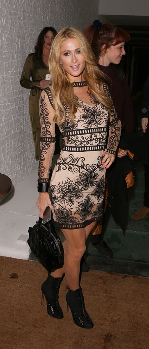 Paris Hilton spotted at Restaurant Ours Launch party in Mayfair, London, 28th April 2016