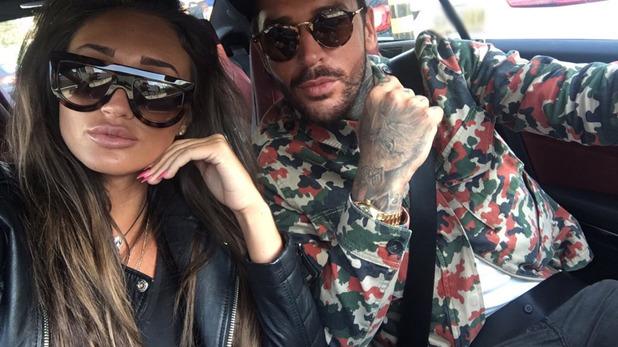 Pete and Megan back in Essex. 24 April 2016.