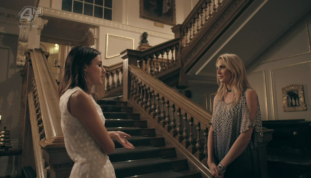 Made In Chelsea: Lucy Watson tells Stephanie Pratt that she no longer wants to be friends. 26 April 2016.