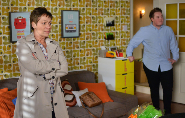 EastEnders, Alison arrives to see Kyle, Tue 3 May