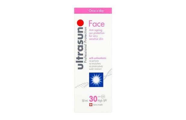 Ultrasun Face SPF 30 £18.99, 28th April 2016