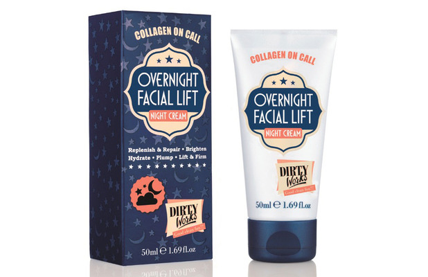 Dirty Works Overnight Facial Lift £8, 26th April 2016