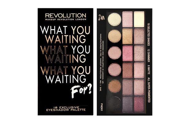 Makeup Revolution Salvation Palette £4, 28th April 2016