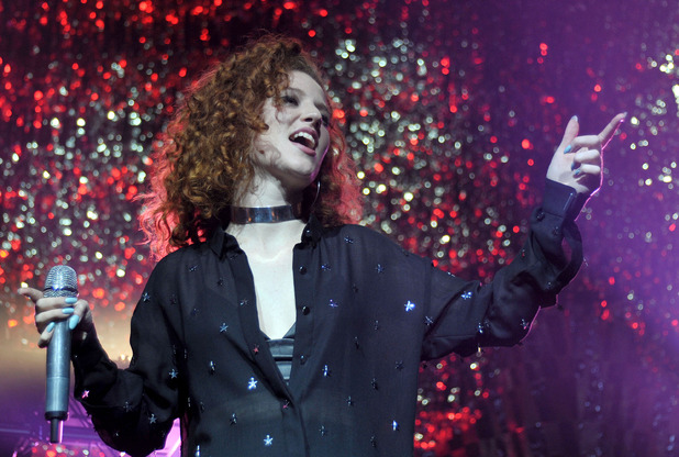 Jess Glynne performing at Manchester O2 Apollo - 30 March 2016.