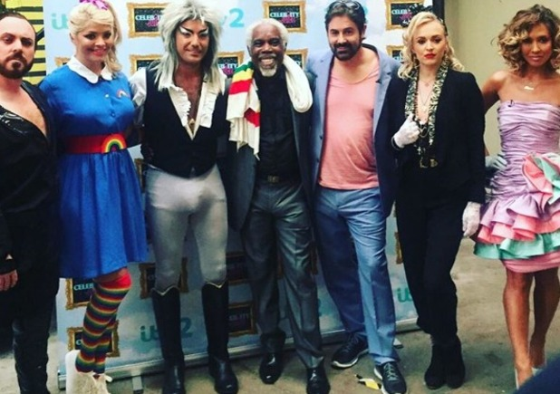 Celebrity Juice dress up in '80s gear for Keith Lemon's birthday, 27 April 2016, airs 28 April 2016
