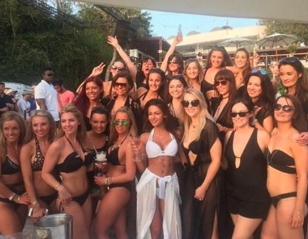 Michelle Keegan shares old photo from her hen do in Ibiza 29 April