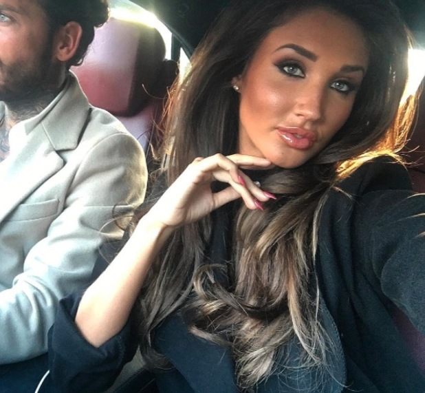 Ex On The Beach and TOWIE star Megan McKenna uploads very tanned selfie to Instagram, divides fans who think she missed out her arm, 27th April 2016
