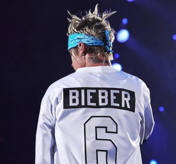 Justin Bieber with dreadlocks