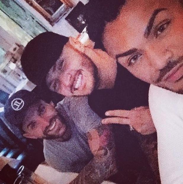 Aaron Chalmers, Kyle Christie and Nathan Henry, Instagram 28 April