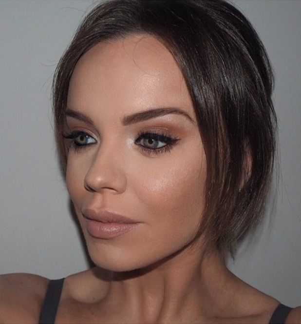 Former TOWIE star Maria Fowler takes to Instagram to share a breakdown of her affordable beauty look, 29th April 2016