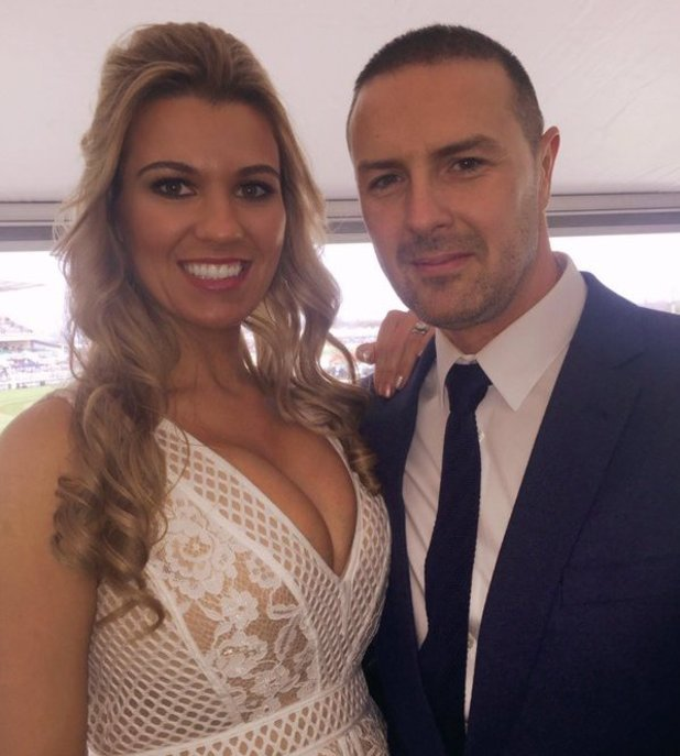 Paddy McGuinness and his wife Christine. 9 April 2016.