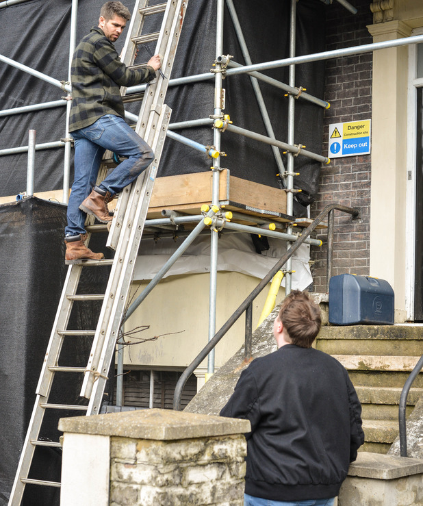 EastEnders, Kyle loses it with Andy, Fri 29 Apr