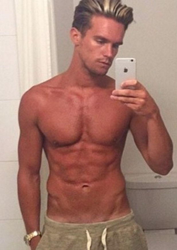 Gary Beadle shares shirtless photo on Instagram 29 April