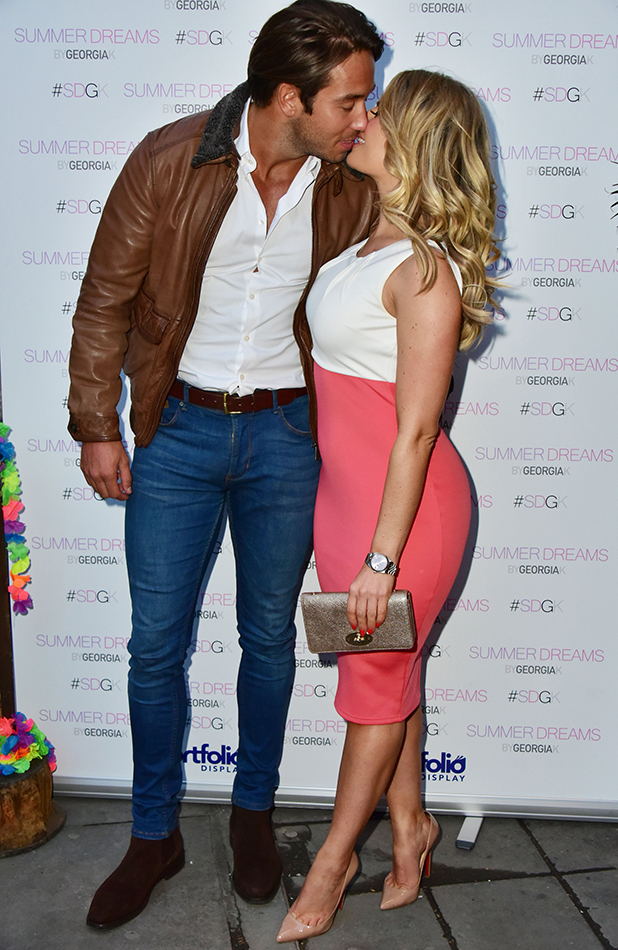 Summer Dreams by Georgia K launch party, London, Britain - 28 Apr 2016 Danielle Armstrong, James Lock