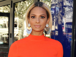 Alesha Dixon nails the colour blocking trend in very summery outfit