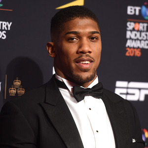 Anthony Joshua at BT Sports Industry Awards held at the Battersea Evolution - 28 April 2016