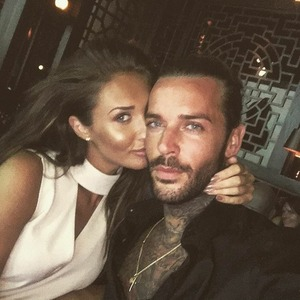 Megan Mckenna and Pete Wicks selfie, last night in Dubai. Instagram, 7/5/16