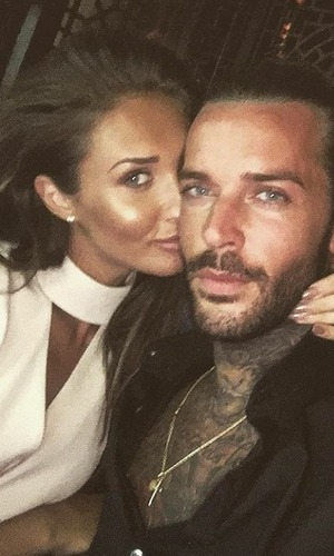 Megan Mckenna and Pete Wicks selfie, last night in Dubai. Instagram, 7/5/16