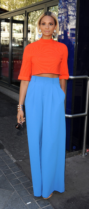 Britain's Got Talent judge Alesha Dixon outside Global House in London, 5th May 2016