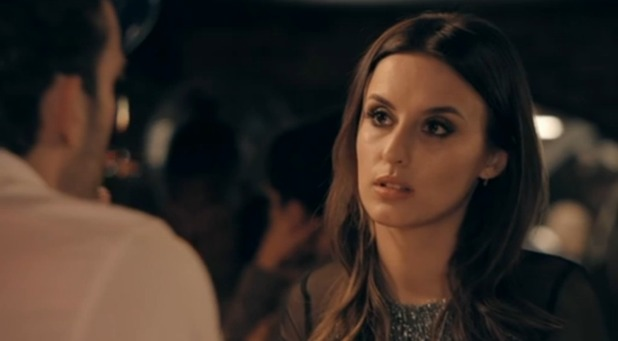 Made In Chelsea: Lucy Watson speaks to James. 2 May 2016.