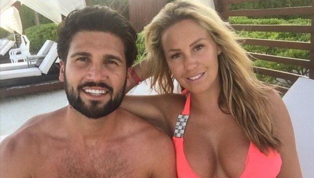 Kate Wright and Dan Edgar on holiday in the Riviera Maya. 4 May 2016