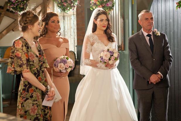 Hollyoaks, Sienna marries Ben, Mon 9 May