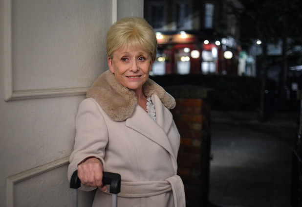 EastEnders, Peggy arrives, Mon 9 May