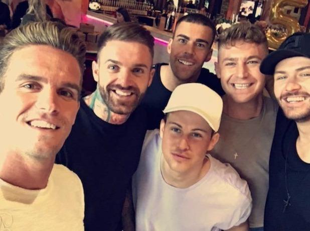 Geordie Shore guys celebrate fifth birthday- 3 May 2016