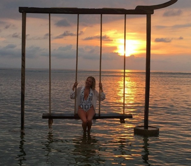 Lydia Bright travelling in Indonesia, Instagram 4 May