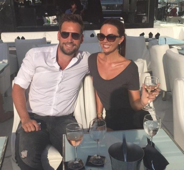 Greg Lake with girlfriend Jennifer Metcalfe, Instagram 14 February