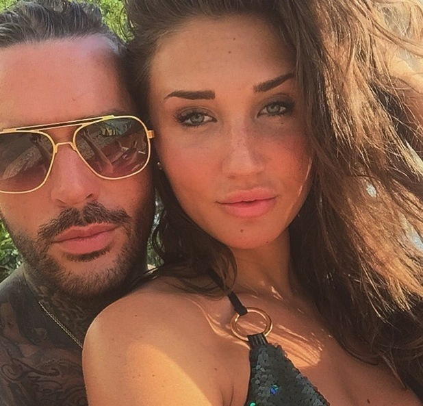 Pete Wicks and Megan McKenna in Dubai 3 May