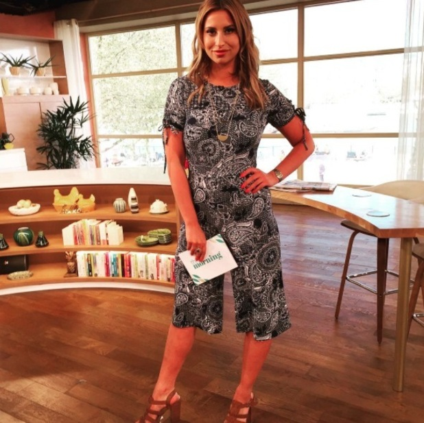 Former TOWIE star Ferne McCann wears Primark jumpsuit on This Morning, 5th May 2016