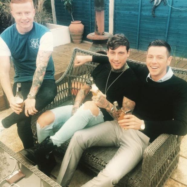 Jeremy McConnell goes on lads' night after Stephanie Davis split - 5 May 2016