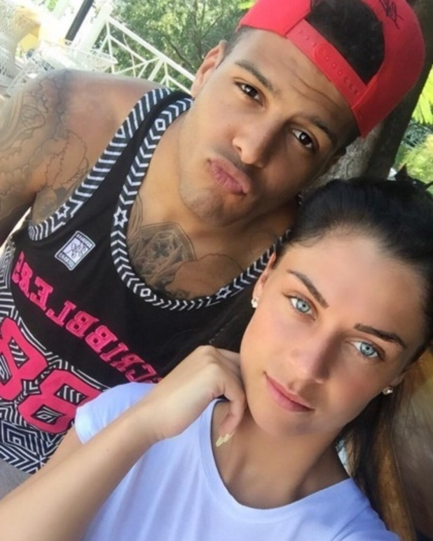 Luis Morrison and Cally Jane Beech in Jamaica March 2016