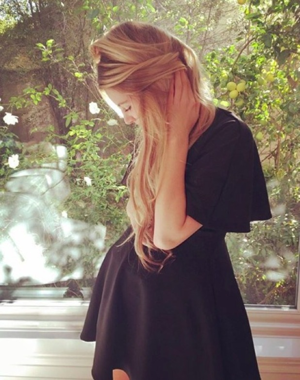 Briana Jungwirth bump blonde
