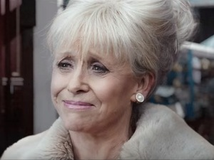 EastEnders: Peggy Mitchell. 5 May 2016.