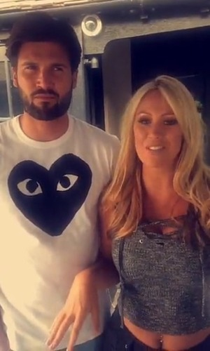 Kate Wright and Dan Edgar play Essex Fourplay on Snapchat 13 May