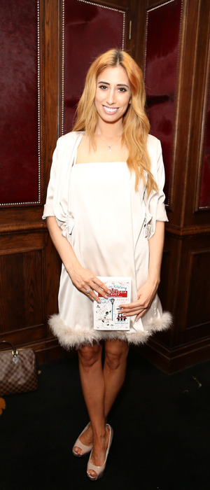 Stacey Solomon attends The Wristband Diaries book launch by Lady Victoria Hervey, 9th May 2016