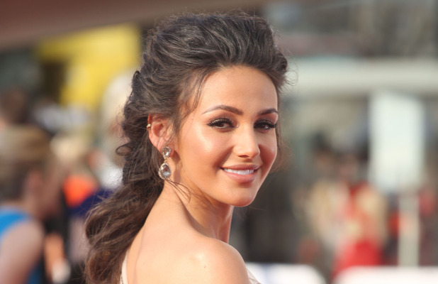 Michelle Keegan on the red carpet at the BAFTA Awards in London, 8th May 2016