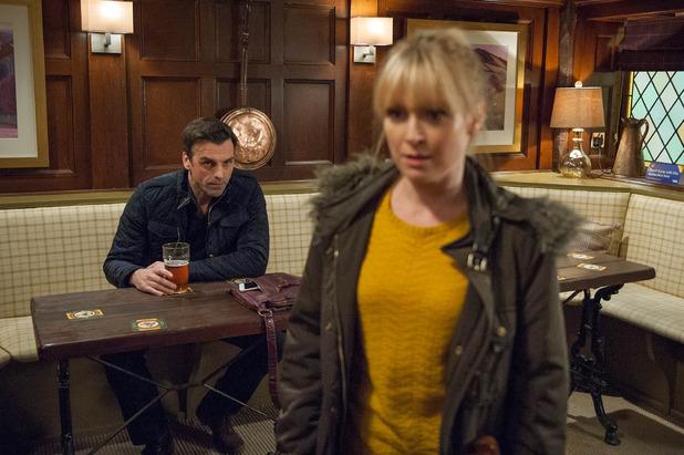 Emmerdale, Pierce takes Vanessa's phone, Mon 16 May