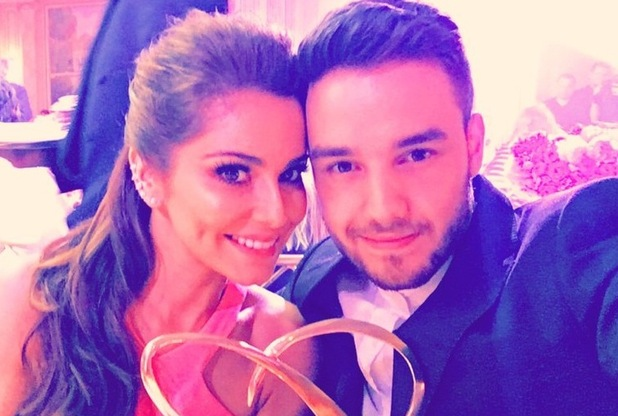 Liam Payne and Cheryl selfie, Global Gift Gala, Paris 9 May