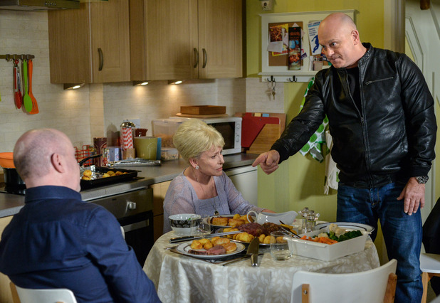 EastEnders, Grant angry, Tue 17 May
